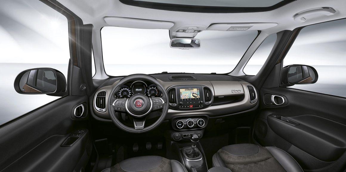 Fiat 500L belső