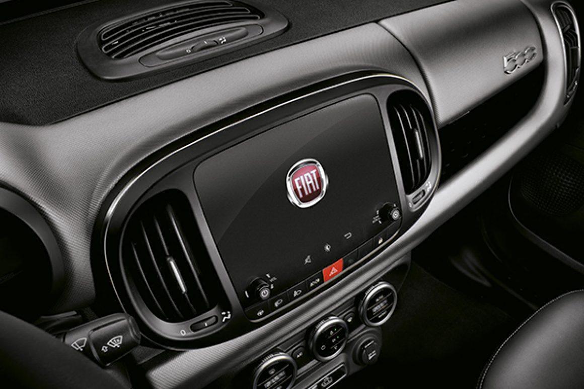 Fiat 500L 7'' TFT rádió